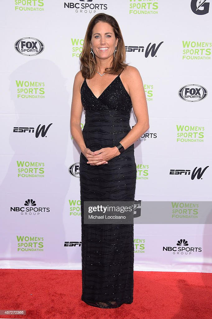 Soccer player Julie Foudy attends the Women's Sports Foundation's 35th Annual Salute to Women In Sports awards, a celebration and a fundraiser to ensure more girls and women have access to sports, at Cipriani Wall Street on October 15, 2014 in New York City.