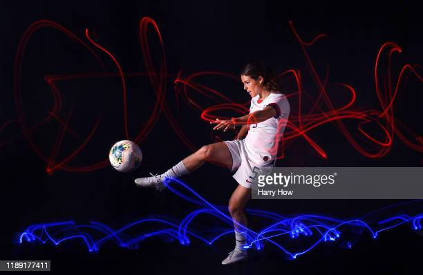 Soccer player Kelly O'Hara poses for a portrait during the Team USA Tokyo 2020 Olympics shoot on November 21, 2019 in West Hollywood, California.