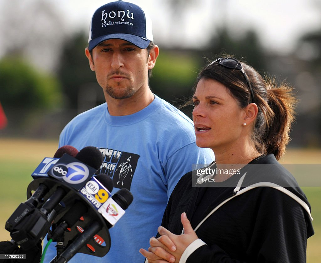 Mia Hamm and Nomar Garciaparra Soccer Clinic for Recovering Cancer Patients and