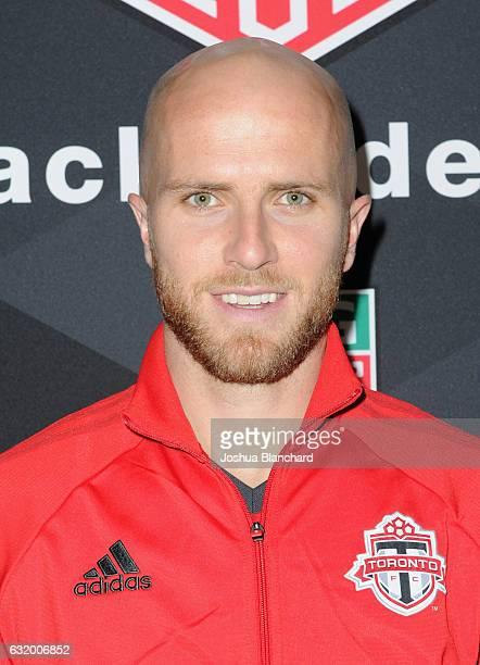 MLS soccer player Michael Bradley attends MLS Media Week Day 2 at Manhattan Beach Marriott on January 18 2017 in Manhattan Beach California