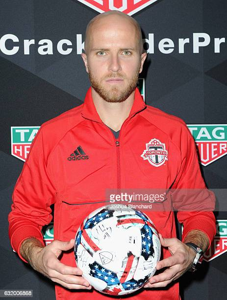 MLS soccer player Michael Bradley attends MLS Media Week Day 2 at Manhattan Beach Marriott on January 18 2017 in Manhattan Beach California