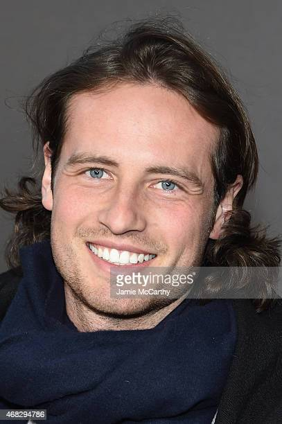 Soccer player Mix Diskerud attends the Outlander midseason New York premiere at Ziegfeld Theater on April 1 2015 in New York City