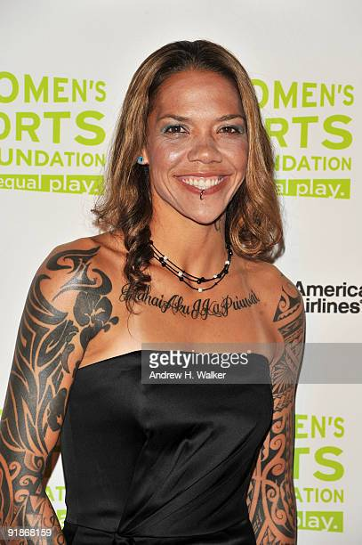 Soccer player Natasha Kai attends the 30th Annual Salute To Women In Sports Awards at The Waldorf=Astoria on October 13 2009 in New York City