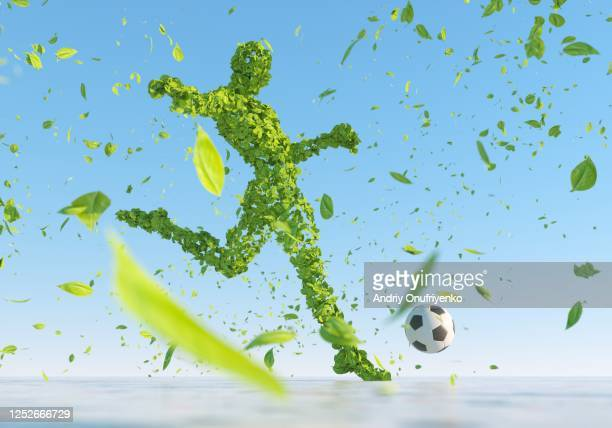 soccer player - drive ball sports stock pictures, royalty-free photos & images