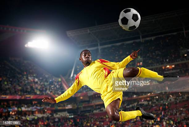 soccer player - football player stock pictures, royalty-free photos & images