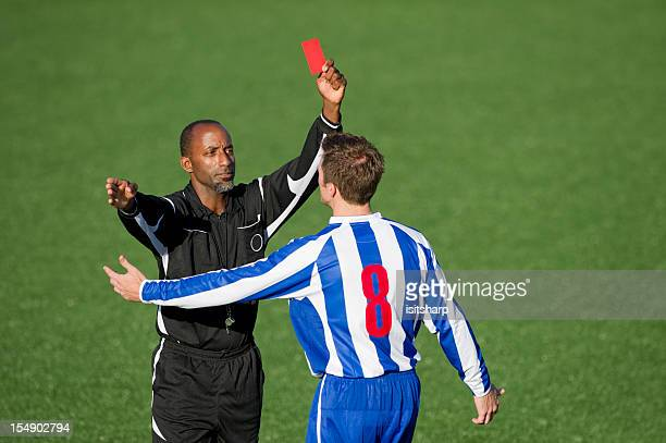 Soccer Player & Referee
