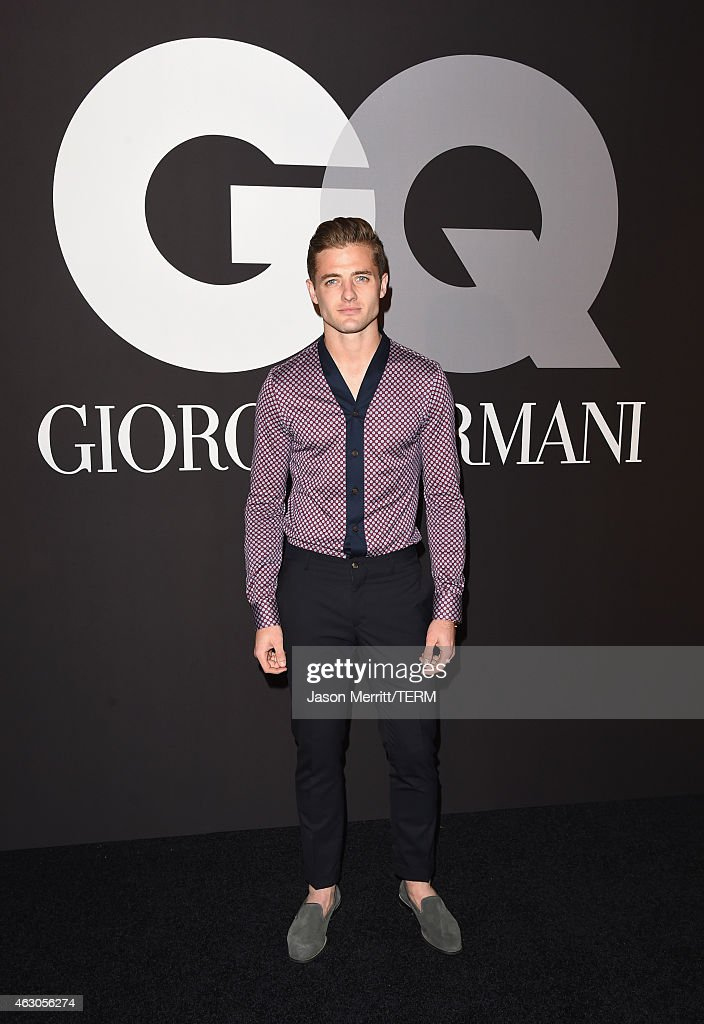 GQ And Giorgio Armani Grammys After Party Arrivals