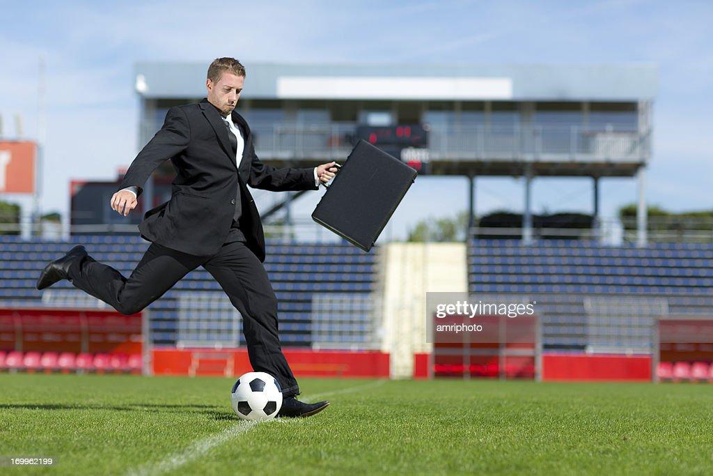 Fußballspieler-transfer : Stock-Foto