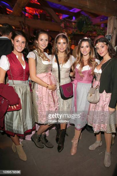 Soccer player's wife Lina Meyer Lisa Ulreich pregnant wife of Sven Ulreich Catherine 'Cathy' Hummels Christina Ginter Nadine Menz during the...