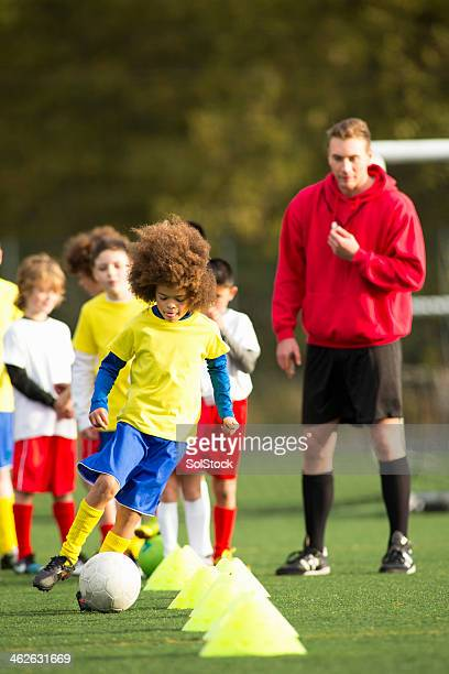soccer practice - club football stock pictures, royalty-free photos & images