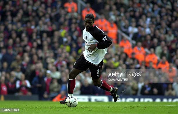 FA Soccer Premiership Season 20032004 Arsenal vs Fulham Louis Saha Championnat d'Angleterre de Football Premiere Ligue Saison 20032004 Arsenal contre...