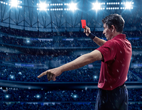 Soccer referee 526807237