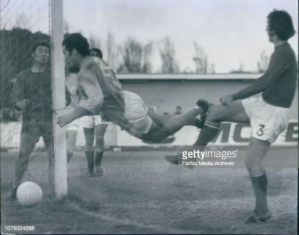 Soccer South Sydney vs *****George Yardley May 2 1971