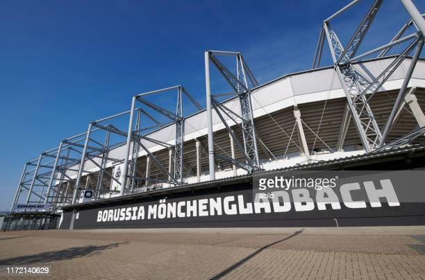 soccer stadium borussia park - borussia park stock pictures, royalty-free photos & images