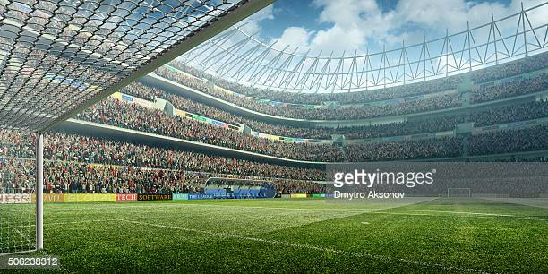 soccer stadium - football field stock pictures, royalty-free photos & images