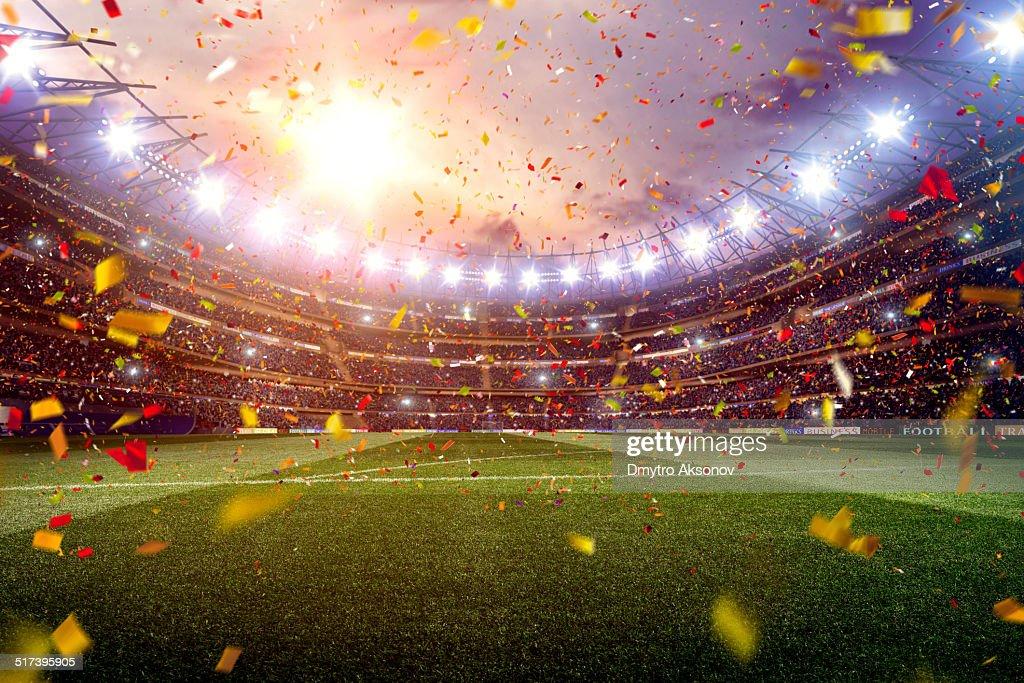 Soccer stadium : Stock Photo