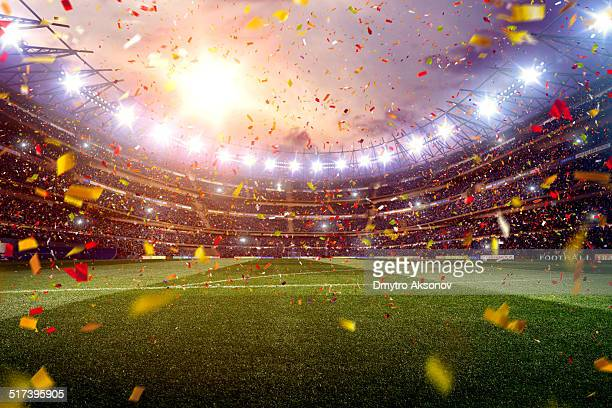 soccer stadium - stadium stock pictures, royalty-free photos & images