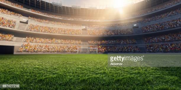 estádio de futebol 3d - futebol - fotografias e filmes do acervo