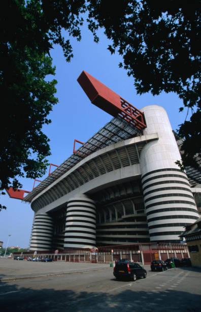 Soccer stadium San Siro of Internazionale Milano and AC Milano.