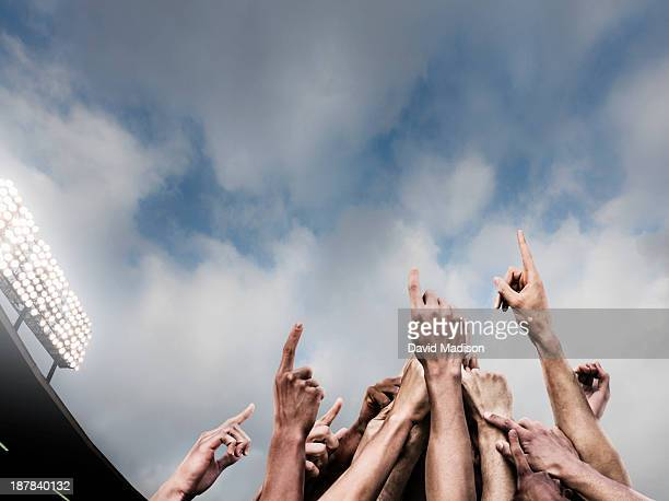 soccer team celebrates - sports team stock pictures, royalty-free photos & images