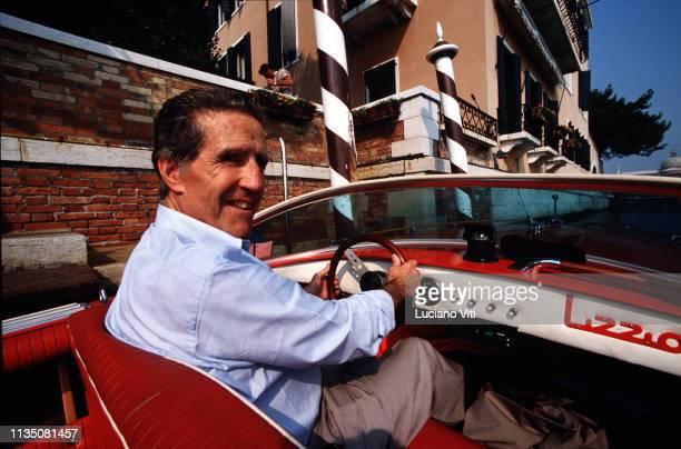 Soccer trainer Helenio Herrera Venice Italy 1986