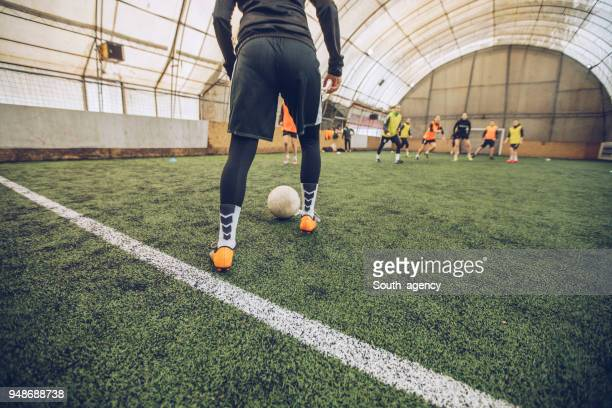 soccer training - turf stock pictures, royalty-free photos & images