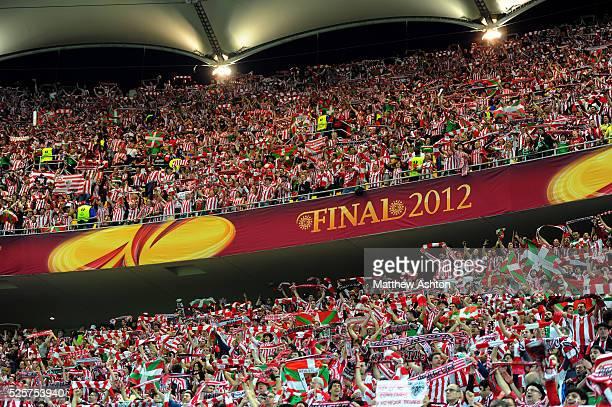 Soccer UEFA Europa League Final 2012 Atletico Madrid v Athletic Bilbao