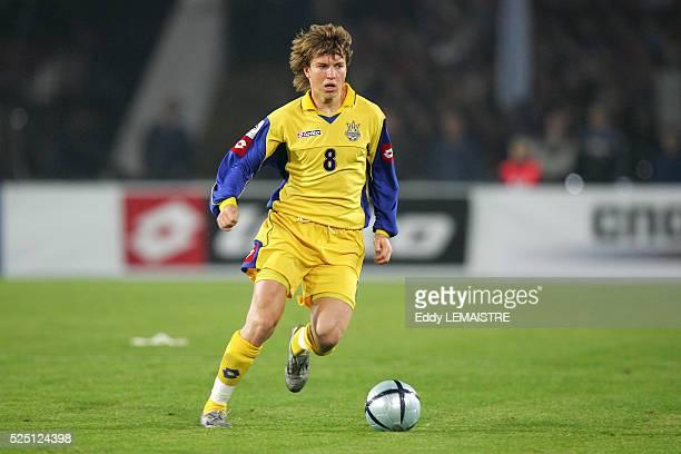 Soccer Ukraine National Team season 20052006 Ruslan Rotan