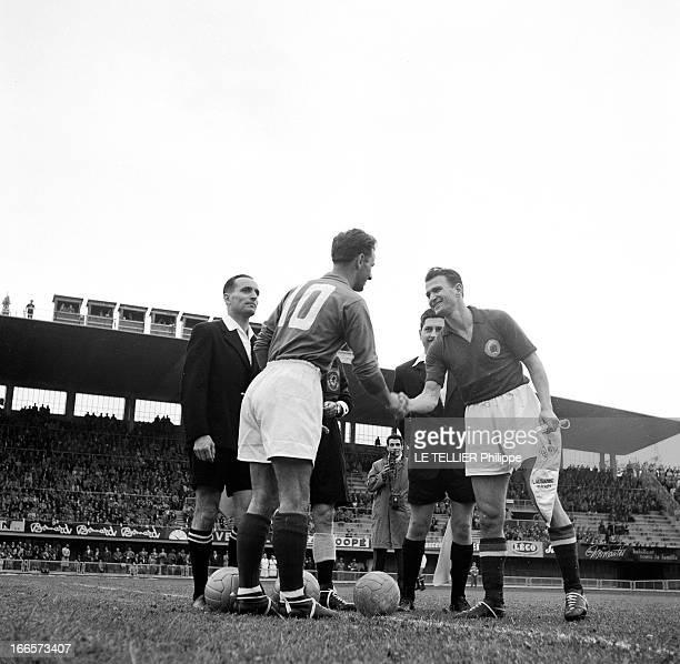 Soccer World Cup 1954 In Switzerland En Suisse lors de la Coupe du Monde de football 1954 à Lausanne sur le stade de La Pontaise à l'occasion du...