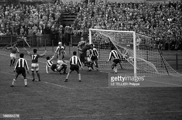 Soccer World Cup 1958 In Sweden En Suède à Norrköping le 08 juin 1958 à l'occasion de la Coupe du Monde de football lors du match de poule entre...