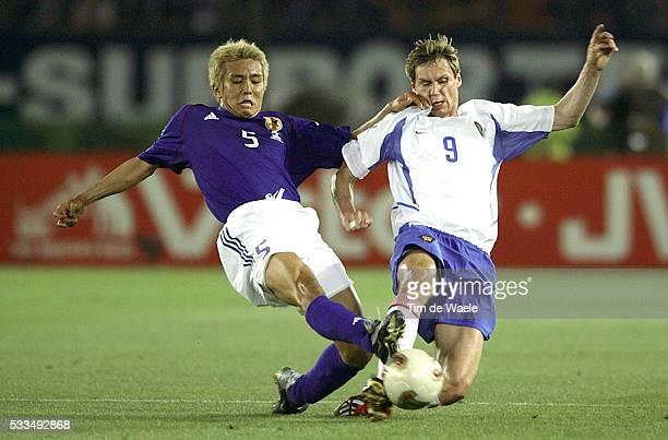 Japan Russia Junichi Inamoto and Igor Titov
