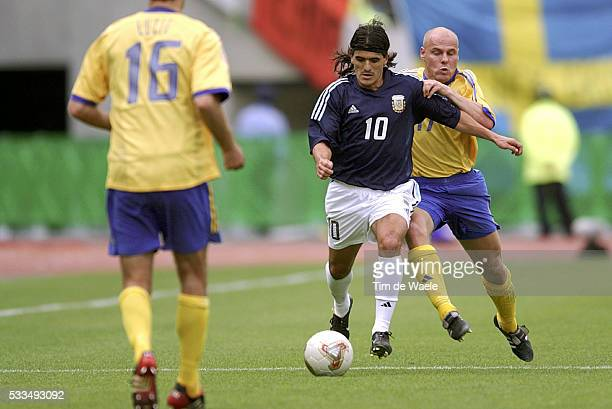 Sweden Argentina Ariel Ortega and Magnus Svensson | Location Miyagi Japan