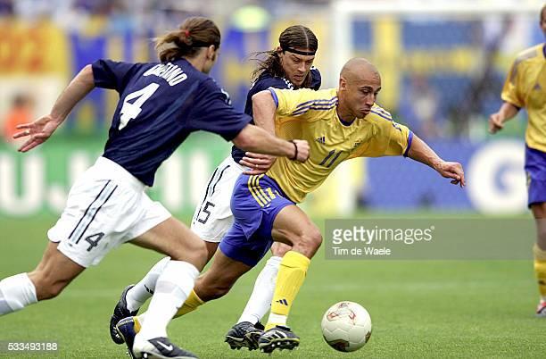 Sweden Argentina Mauricio Pochettino Anders Larsson and Matias Almeyda | Location Miyagi Japan