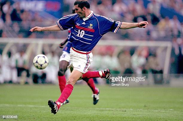 World Cup France Zinedine Zidane in action vs Saudi Arabia during Group C First Round Match at Stade de France Saint Denis France 6/18/1998 CREDIT...