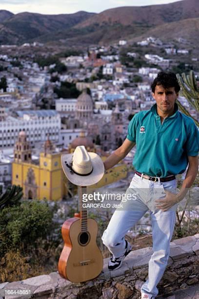 Soccer World Cup Team Mexico France. Mexico- 8 juin 1986- A l'occasion de la coupe du monde de football, reportage sur quelques joueurs de l'équipe...