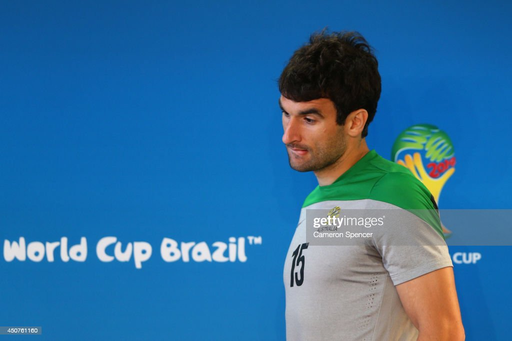 Australia Training & Press Conference - 2014 FIFA World Cup