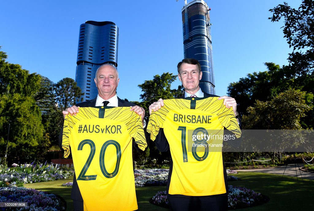 Socceroos Media Announcement