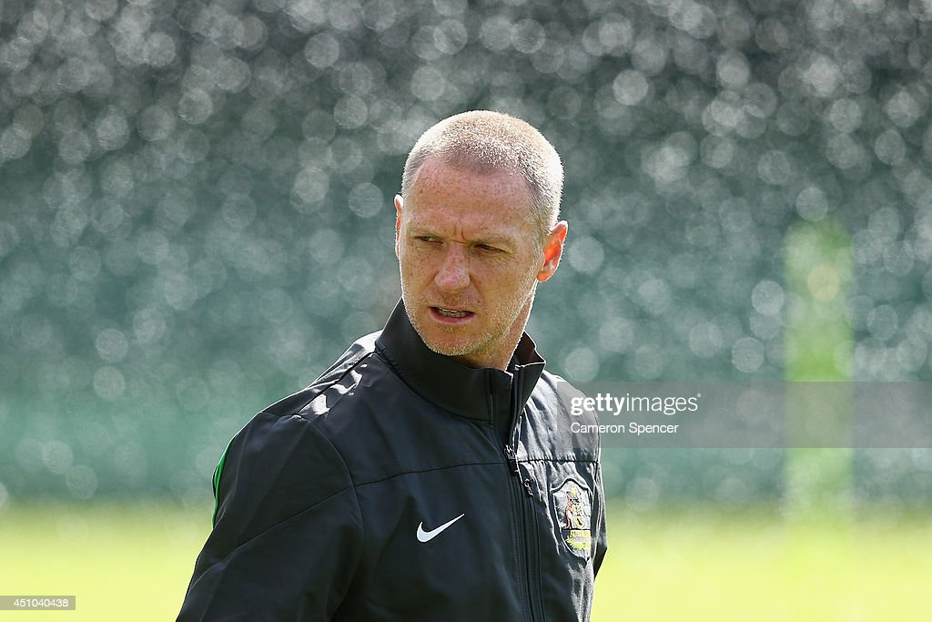 Australia Training & Press Conference - 2014 FIFA World Cup Brazil