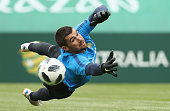 kazan russia socceroos goalkeeper mathew ryan