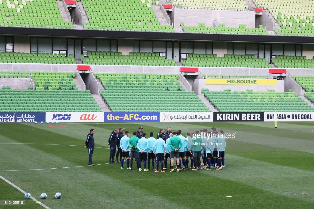Australian Socceroos Training Session : News Photo