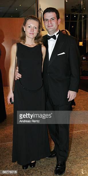 Social Democrats general Secretary Hubertus Heil and his wife Solveig Orlowski attend the annual German Media Ball Bundespresseball on November 25...