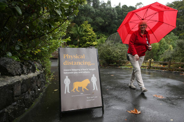 NZL: Auckland Zoo Reopens As Coronavirus Restrictions Continue To Ease In New Zealand