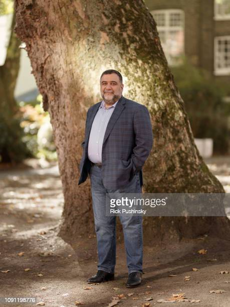 Social entrepreneur impact investor and venture philanthropist Ruben Vardanyan is photographed for the Financial Times on September 13 2018 in London...