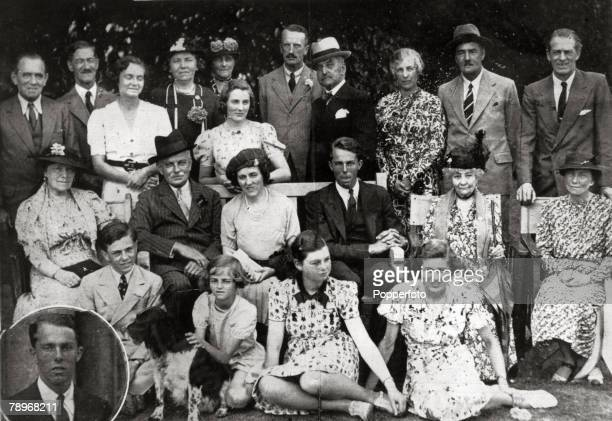 1938 England Northamptonshire Courtenhall The celebrations for the 21st birthday of the present Sir Hereward Wake the family being one of the oldest...