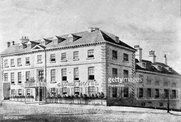 circa 1900s, Northampton, Northamptonshire, England, The