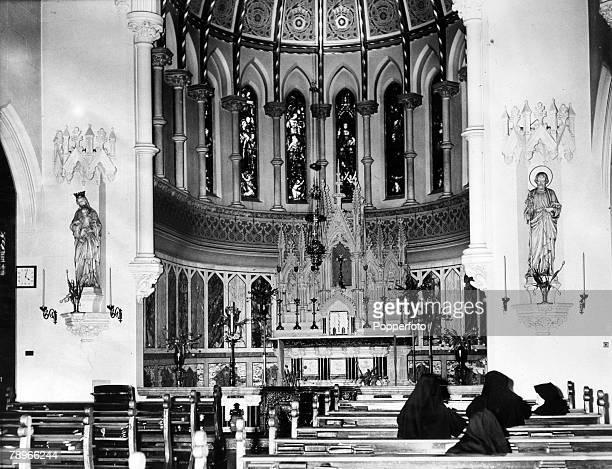 Social History Religion Northampton Northamptonshire England pic 1979 The Notre Dame Chapel Northampton
