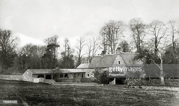 circa 1910's England Abington Park Northampton