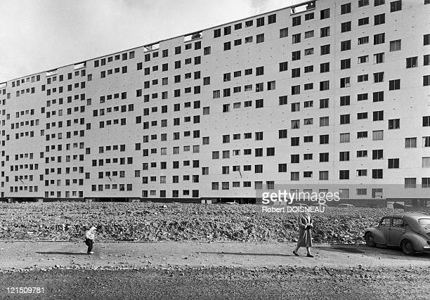 Social Housing At Fresne Paris Outskirts In The 1970'S
