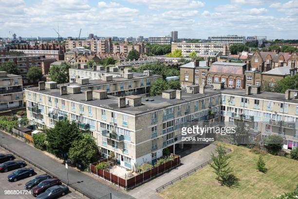 A social Housing Estate in London London is the Capital city of England and the United Kingdom it is located in the south east of the country In 2017...