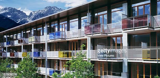 Social Housing Tirol Innsbruck Austria Georg Driendl 2002Social Housing Architect
